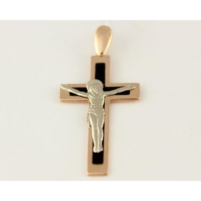 Золотой крестик 210103