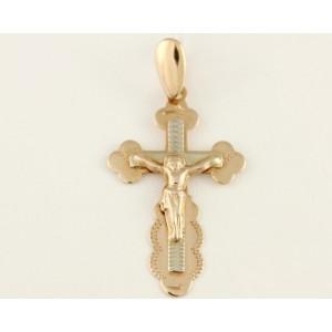 Золотой крестик 210038