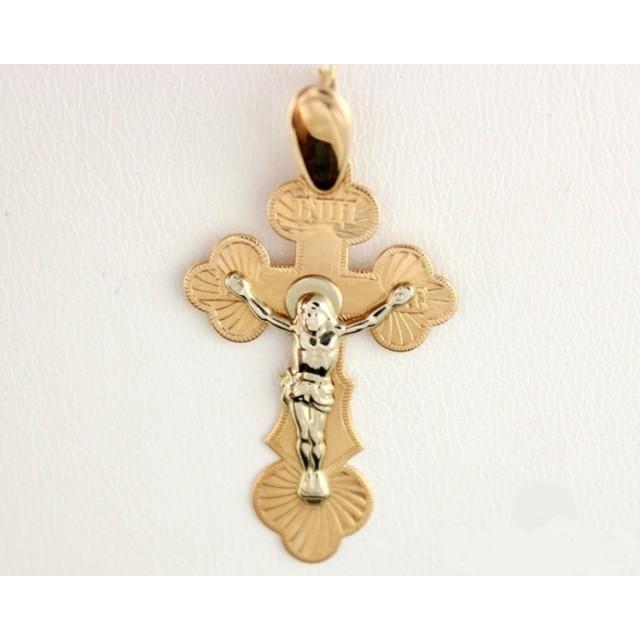 Золотой крестик 221008