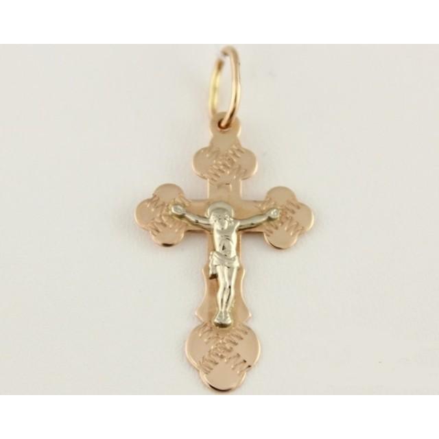 Золотой крестик 230015
