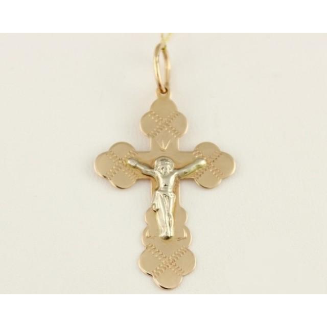 Золотой крестик 230054