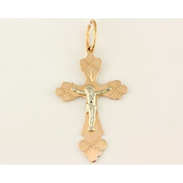 Золотой крестик 230062