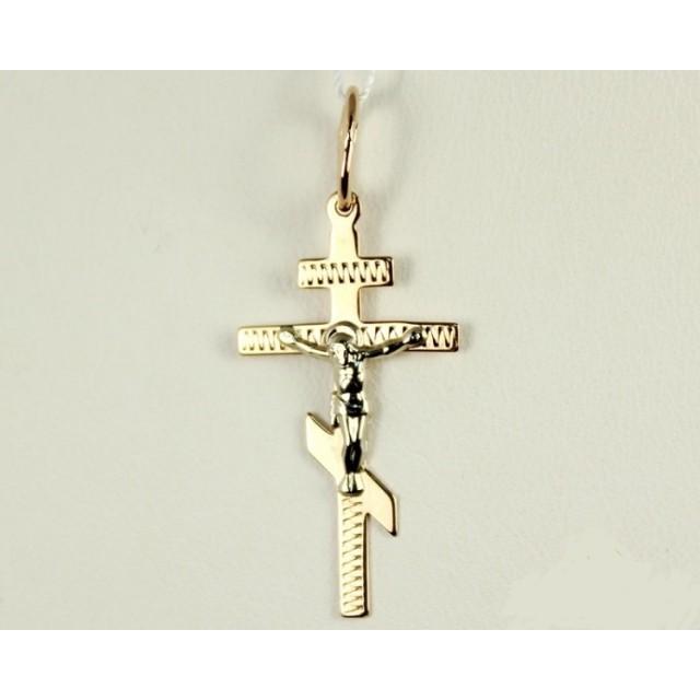Золотой крестик 230068