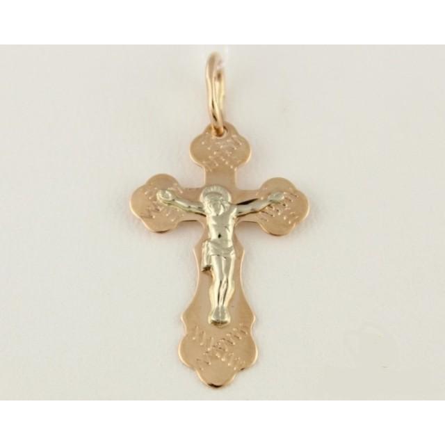 Золотой крестик 230120