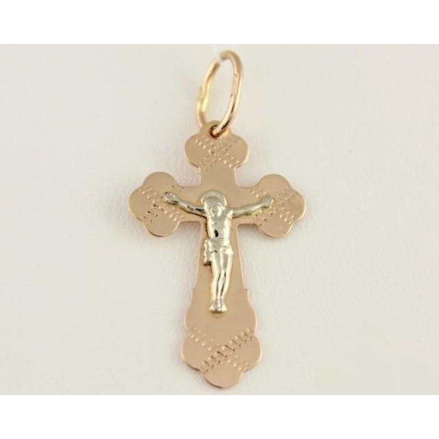 Золотой крестик 230124