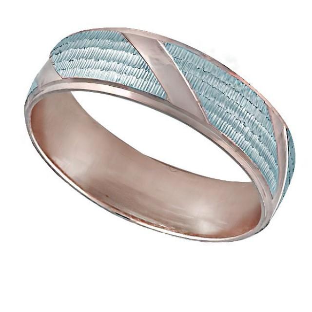 Золотое обручальное кольцо К003