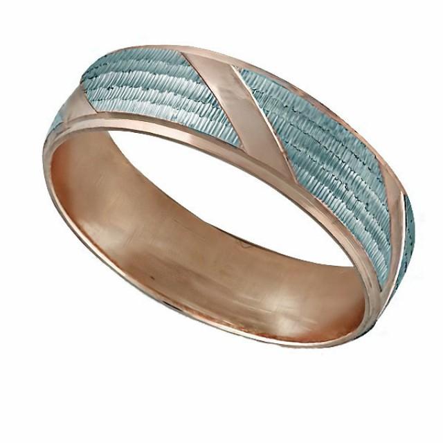 Золотое обручальное кольцо К005