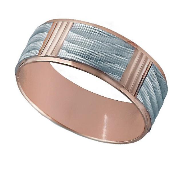 Золотое обручальное кольцо к010