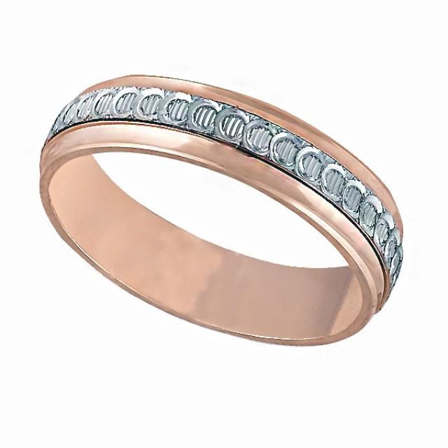 Золотое обручальное кольцо К020