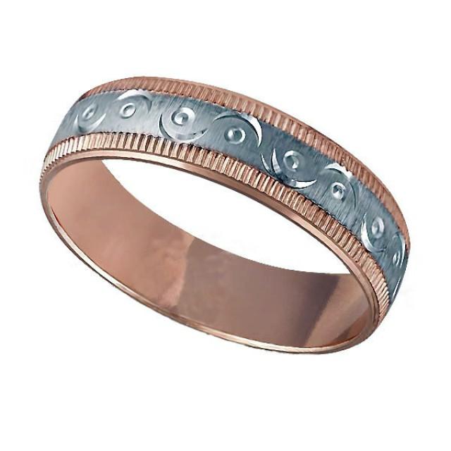 Золотое обручальное кольцо К027