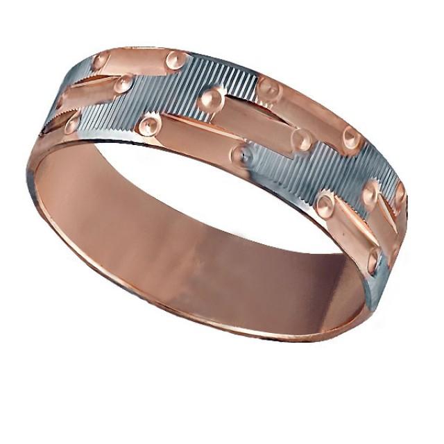 Золотое обручальное кольцо К031