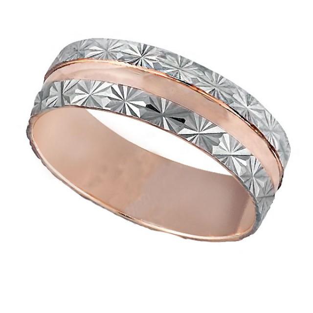 Золотое обручальное кольцо К038