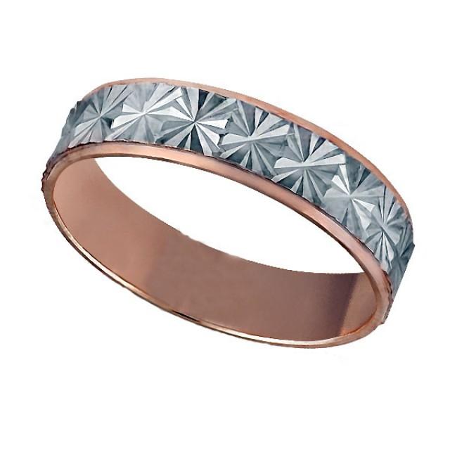 Золотое обручальное кольцо К039