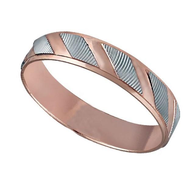 Золотое обручальное кольцо К076