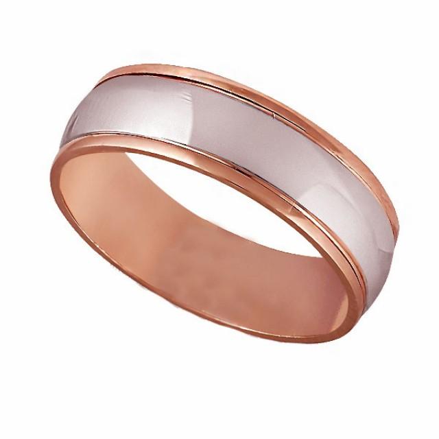 Золотое обручальное кольцо К119