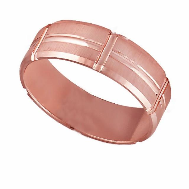 Золотое обручальное кольцо К122