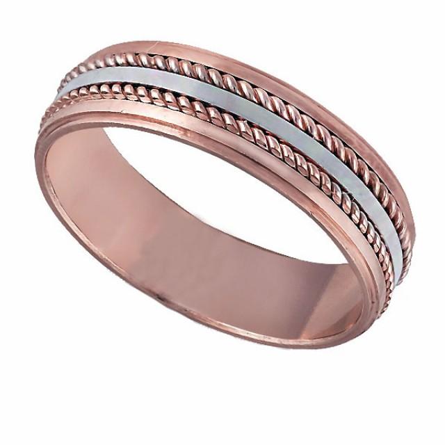 Золотое обручальное кольцо К124