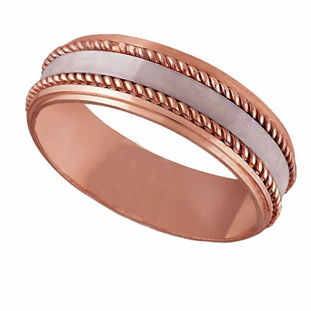 Золотое обручальное кольцо К125 фото