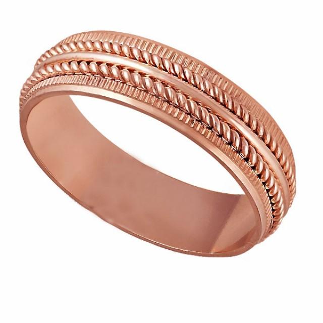 Золотое обручальное кольцо К126
