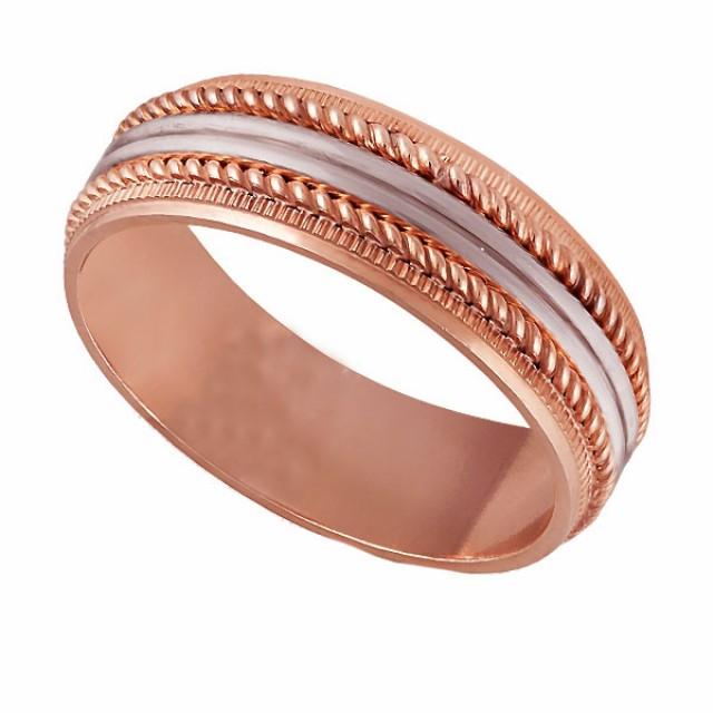 Золотое обручальное кольцо К127