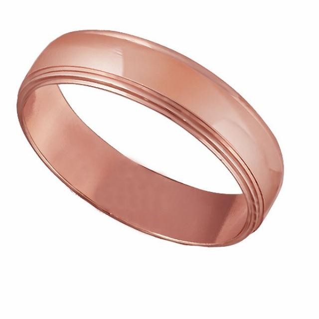 Золотое обручальное кольцо К128