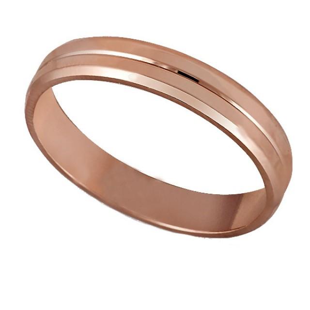 Золотое обручальное кольцо К131