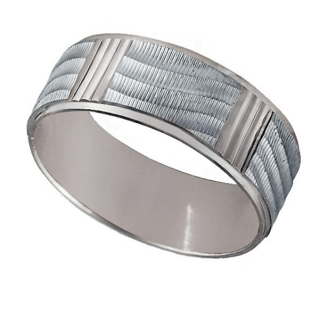Золотое обручальное кольцо К9010