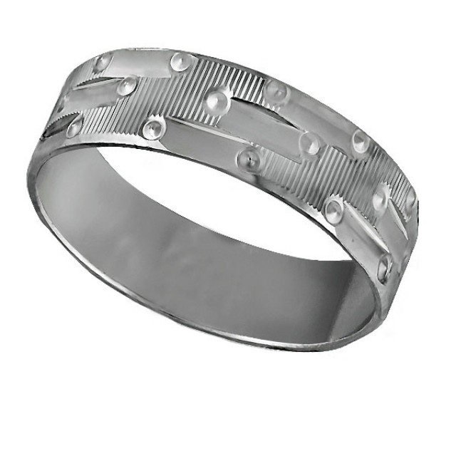 Золотое обручальное кольцо К9031 фото