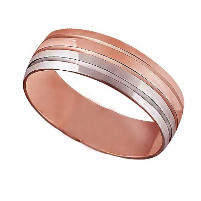 Золотое обручальное кольцо К024