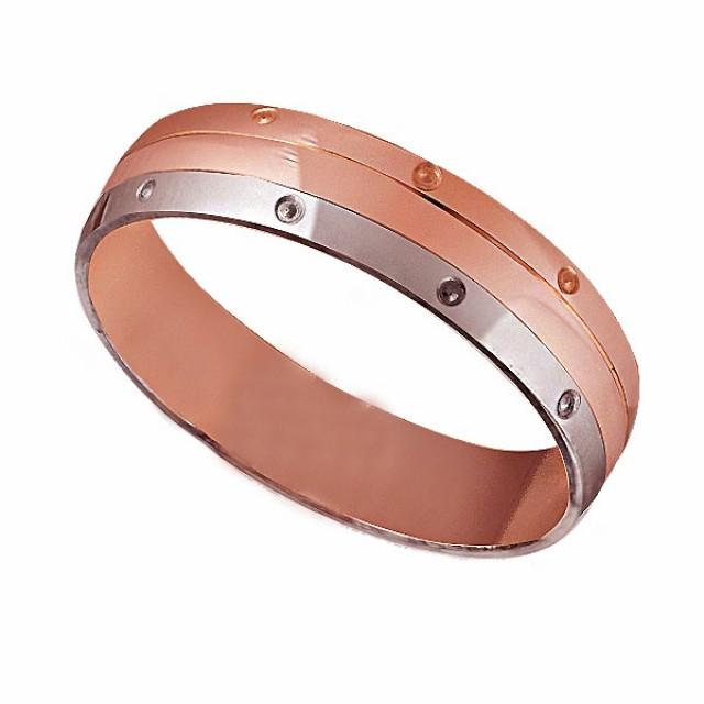 Золотое обручальное кольцо К026