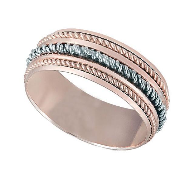 Золотое обручальное кольцо К132 фото