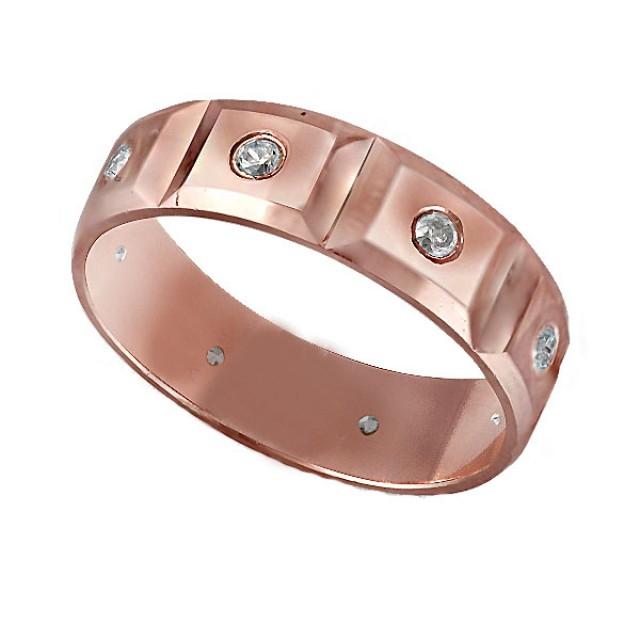 Золотое обручальное кольцо К201