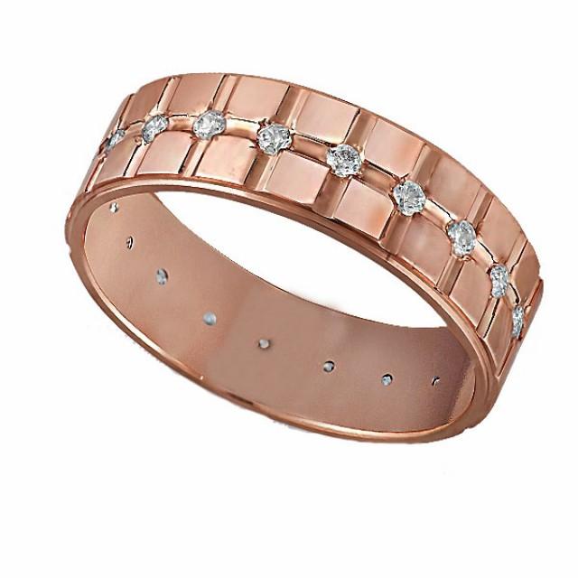 Золотое обручальное кольцо К202