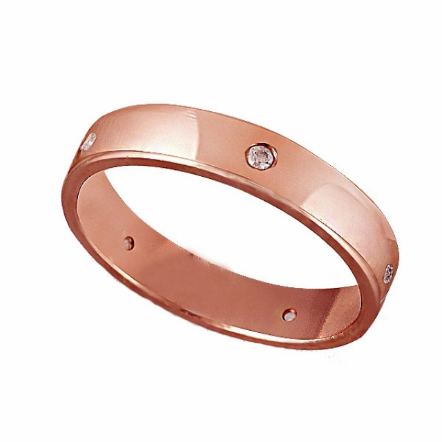 Золотое обручальное кольцо К206 фото