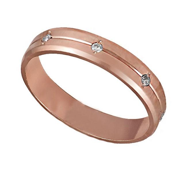 Золотое обручальное кольцо К231