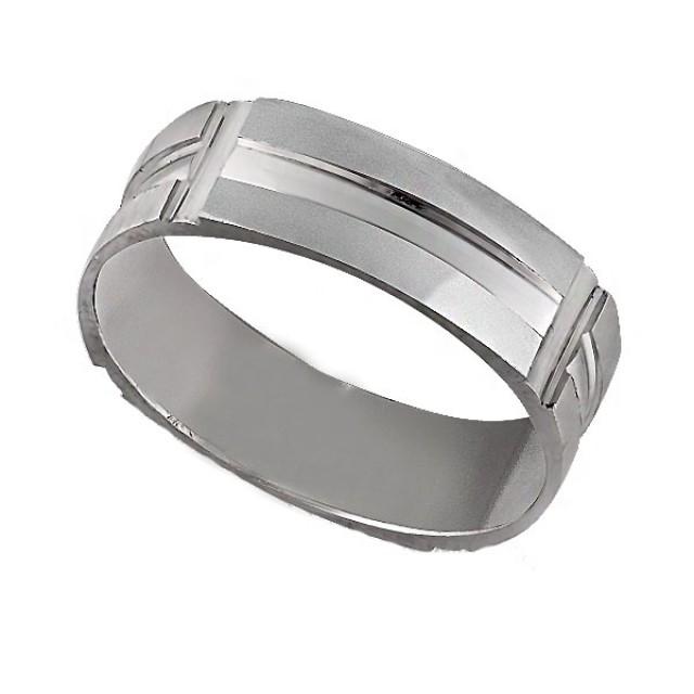 Золотое обручальное кольцо К9001