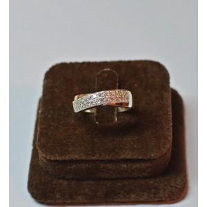Серебряное кольцо 1009к фото