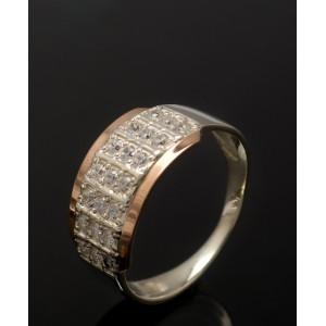Серебряное кольцо 1001к фото