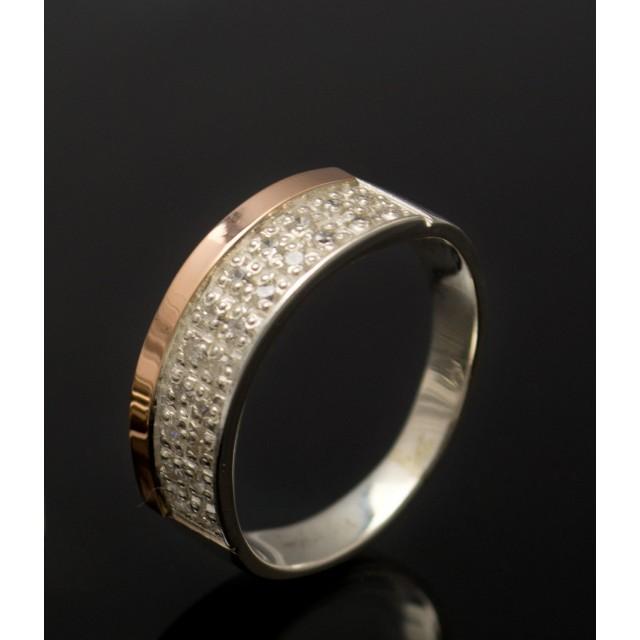 Серебряное кольцо 1017к