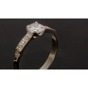 Серебряное кольцо 1018к