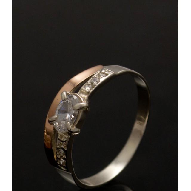 Серебряное кольцо 1021к