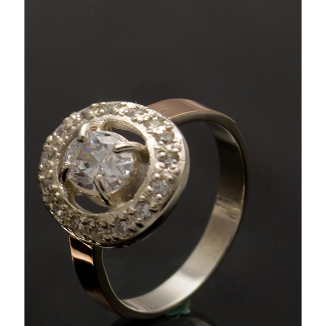 Серебряное кольцо 1023к