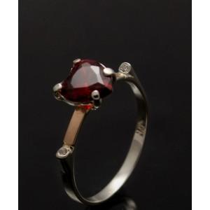 Серебряное кольцо 1025к