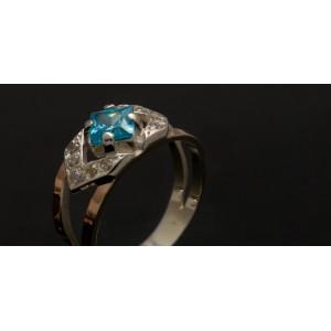 Серебряное кольцо 1027к