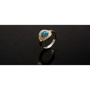 Серебряное кольцо 1003к фото