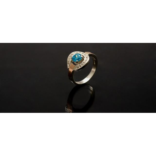 Серебряное кольцо 1003к