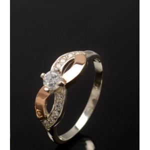 Серебряное кольцо 1030к