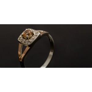 Серебряное кольцо 1032к