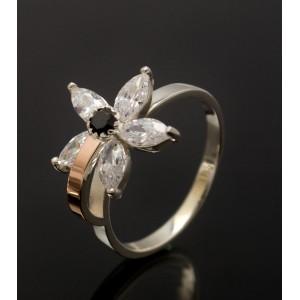 Серебряное кольцо 1034к