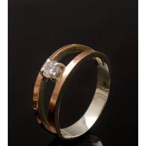 Серебряное кольцо 1004к фото